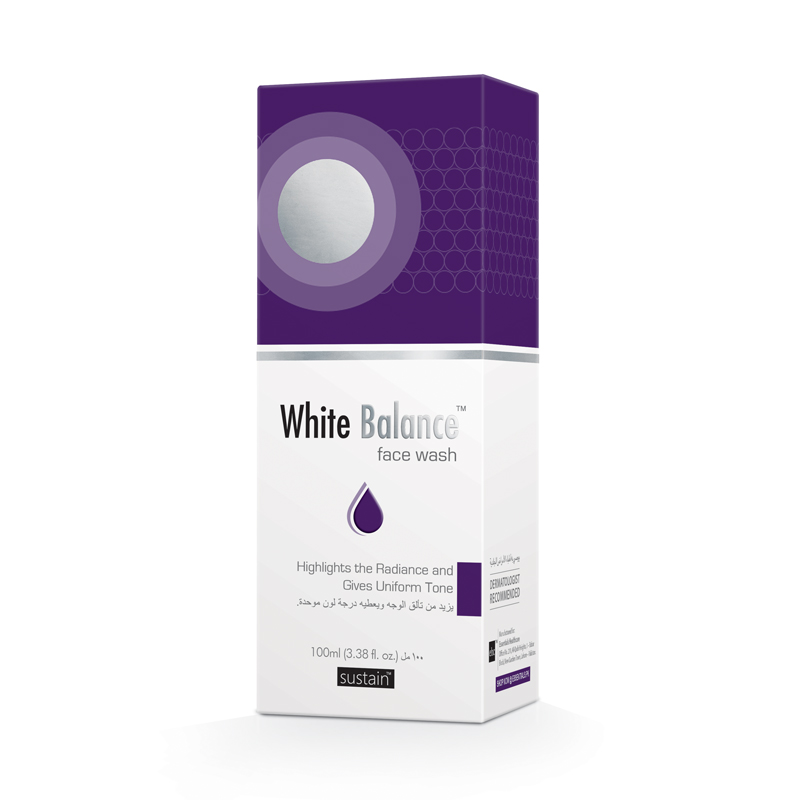 White Balance face Wash